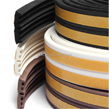 5M Window Door Excluding Draft Foam Seal Strip E type Self Adhesive Rubber seal