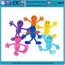 Custom make 3d plastic bendable action figures,customized pvc plastic 3d bendable action figure