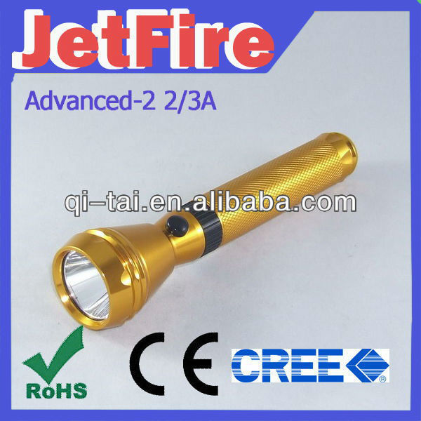 OEM aluminum alloy cree flashlights