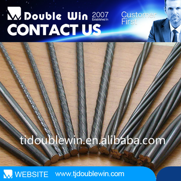 Cold drawn High tensile low relaxation galvanized prestressed concrete steel wire with high steel wire cabl tension