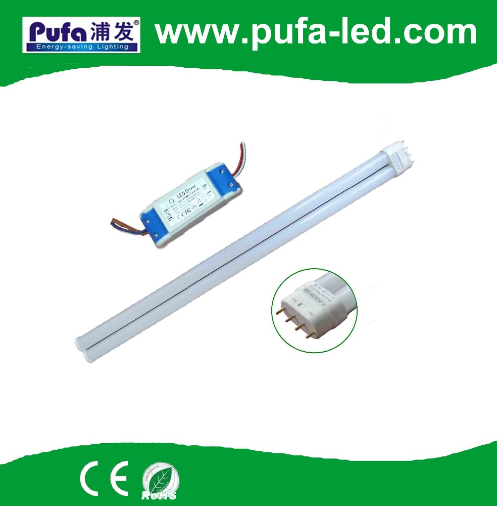 7w 9w 13w 15w 18w20w 22w 26w 2g11 tube pl Lamp base 2g11 with LED driver