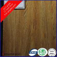 12mm Grey Oak Synchronized Laminate Flooring Eir Grain