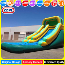 ZZPL Backyard Small Inflatable Water Slide for kids, Inflatable Christmas Water Slide for sale