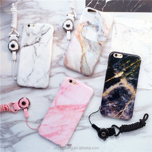factory wholesale price marble design mobile phone plastic cover case