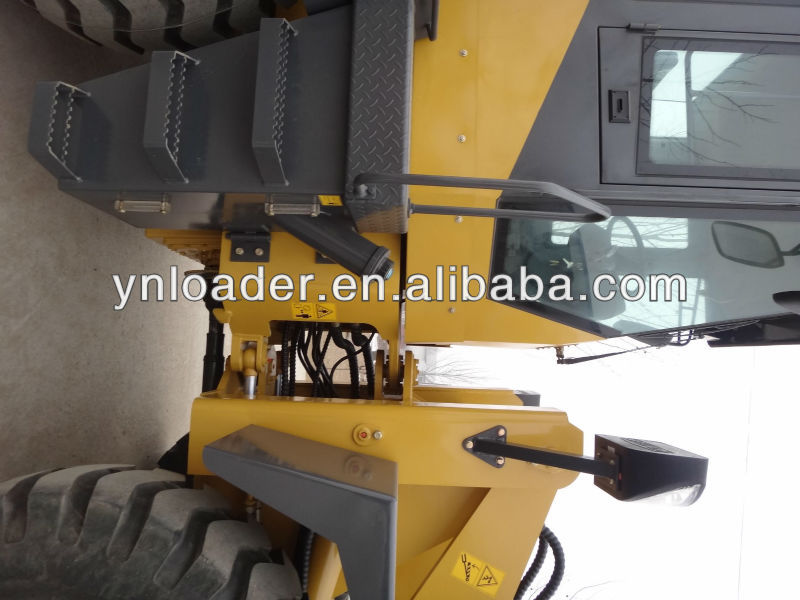 3 ton wheel loader with heavy chassis for sale