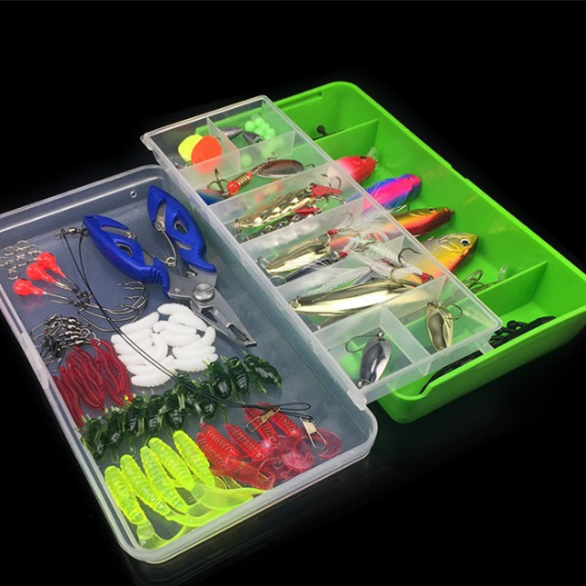 101 pieces a set of beautiful <strong>fishing</strong> lure set