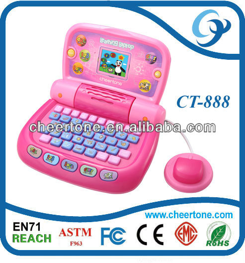 2.7'' inch Color Screen education toy with English,Spanish,Arabic,Chinese