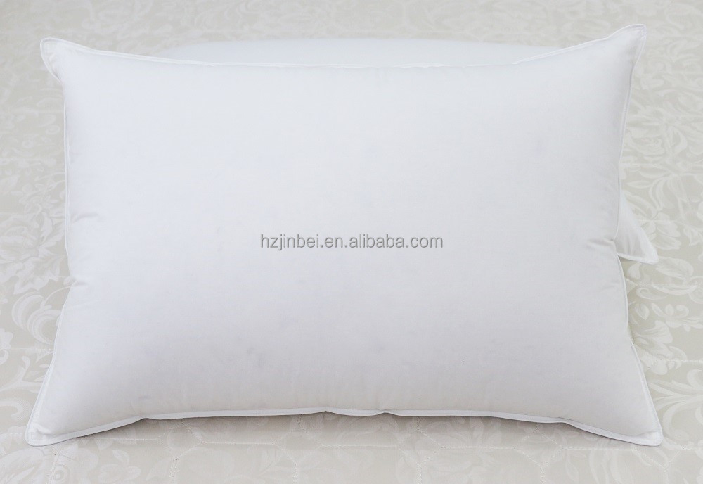 Hotel Wased Grey Duck Down and Feather Pillow