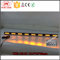 48 inch Amber LED Strip Lightbar For Big Car/Yellow Warning Strobe Light Bar In China TBE-168-8 C4