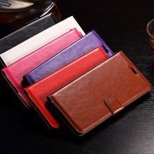 Leather case For Huawei Y6II 5.5'', Popular classical PU leather protective custom smart cell phone case cover