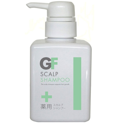 GF Scalp Care Shampoo Hair Growing and Shining Made in Japan High Quality and Safety 300ml
