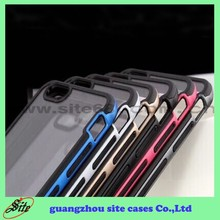 Candy color Fresh new style PC frame plastic injection case cheap mobile phone case cell phone case for iphone 6