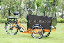 safe electric delivery electric cargo bike on sale