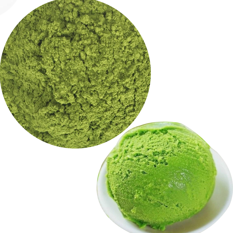 Free sample organic instant japan matcha tea extract powder for ice cream
