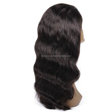 New Arrival Curly Indian Remy Glueless Silk Top Full Lace Wig With Baby Hair