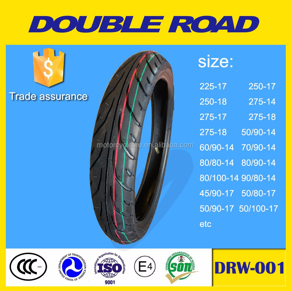 Wholesale off road nylon motorcycle tubeless tyres size 130/80-17