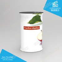 TENSION FABRIC TUBE DISPLAY EXHIBITION PROMOTION COUNTER