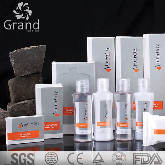 Skin Care Hotel Bathroom Amenities Set Shampoo Bath Gel Conditioner Body Lotion Manufacturer Hot