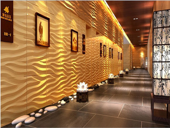 decorative interior wall paneling with 3d effect wall coverings