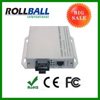 Hot sale: 1 SC port + 1 10/100M rj45 port 15.4W 2 port switch poe/ dual fiber POE media converter
