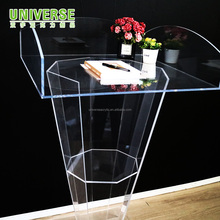 UNIVERSE fashion custom commercial clear acrylic church podiums