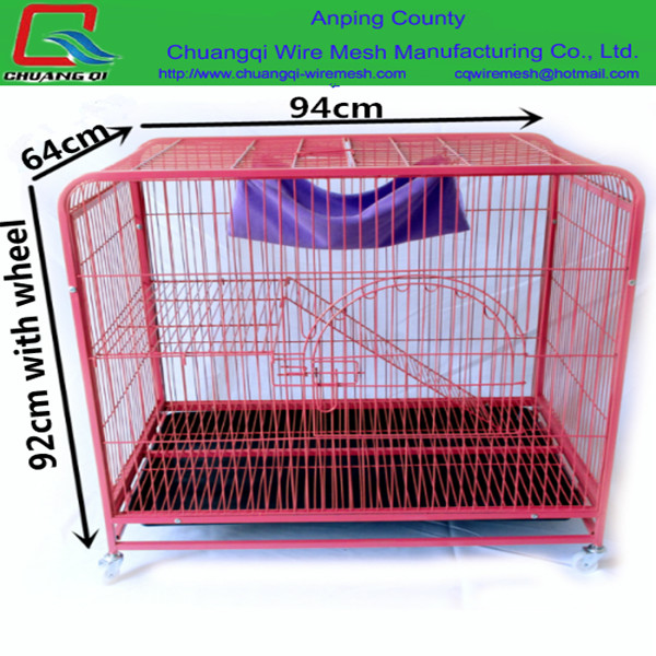 2016 Factory Cheap Cat House Product Big Foldable Wire Pet Cat Cage For Sale