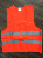 Orange and yellow colour kids reflective safty vest