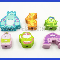 Cartoon Pencil Top Eraser Good Quality