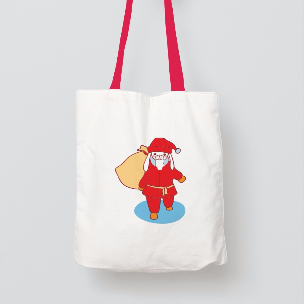 Eco Friendly Christmas Gift Tote Bag In Standard Size