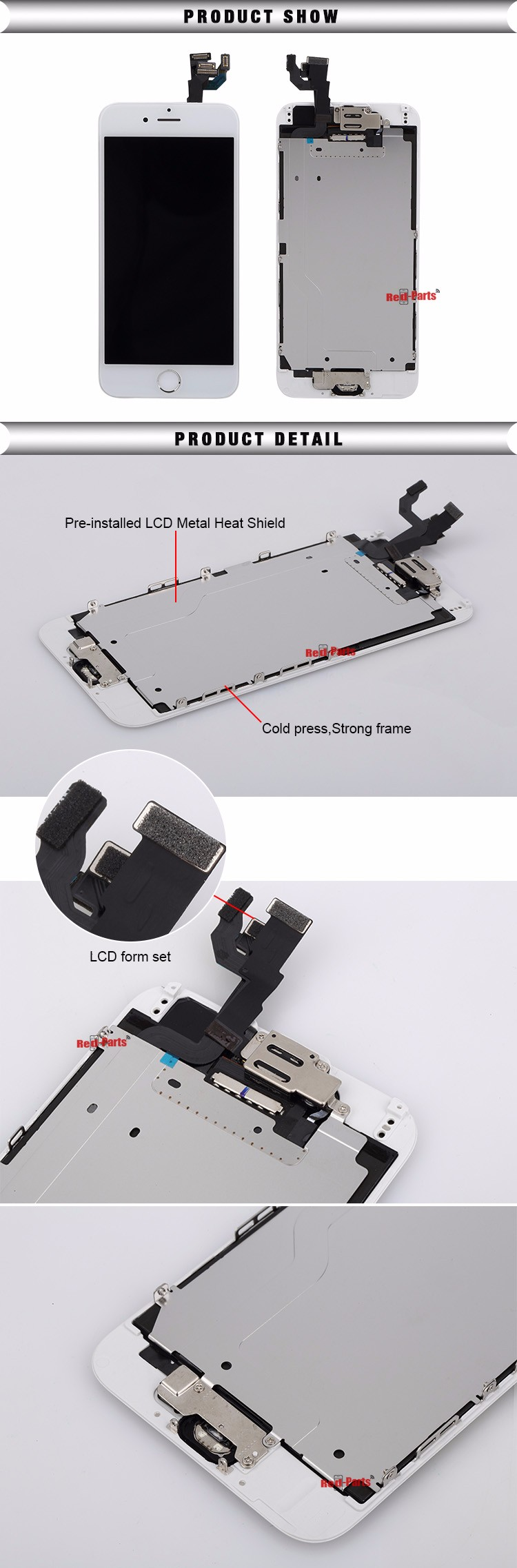 Original LCD For Iphone 6, For Iphone 6 LCD Touch Screen, Replacement Digitizer LCD Touch Screen For Iphone 6
