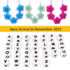 2016 Pendant Chic Bpa Free Silicone Latest Fashion Designs Necklace