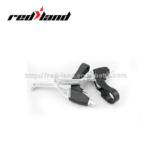 Black and Silver MTB Bicycle brake lever