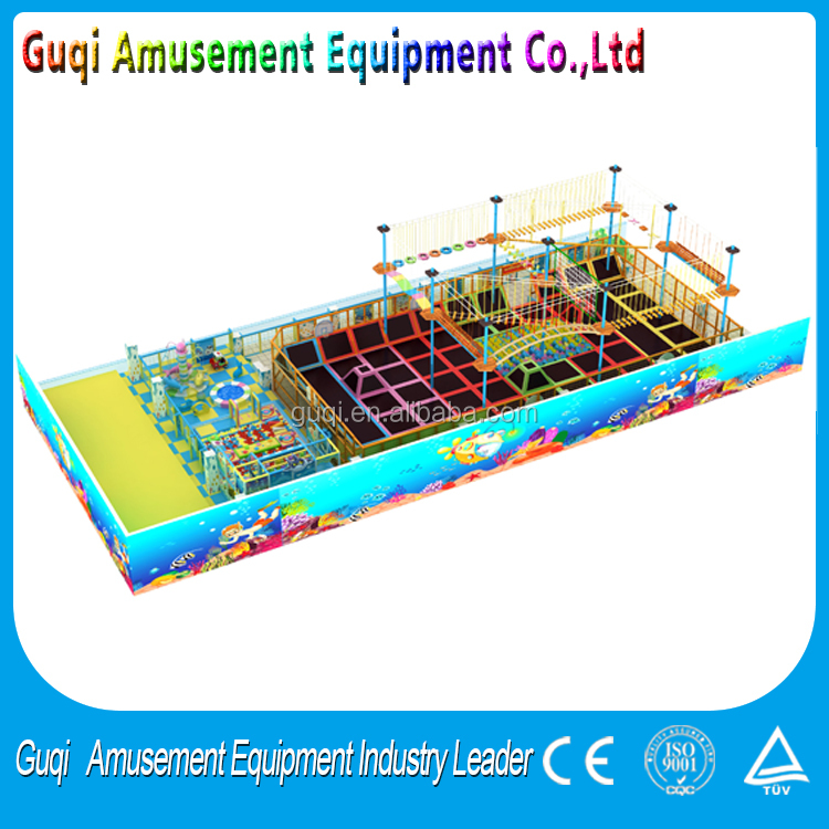 Used Sale Indoor Wooden Kids Games Plastic Playground Equipment