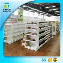 High quality modern goods display rack shelf in the shop