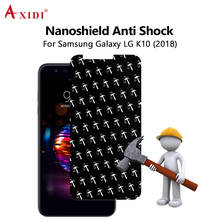 2018 Nanoshield Strong Anti Shock HD Clear Screen Protector For LG K10