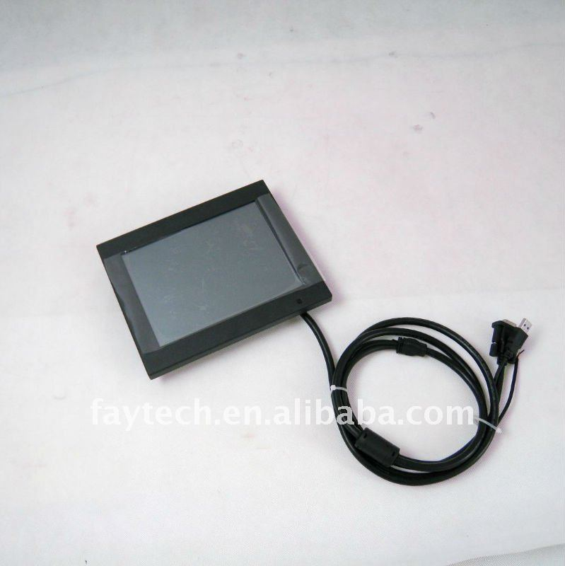 15 inch Waterproof Touch Screen Monitor IP65