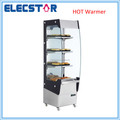30'C to 80'C upright stainless steel open front hot showcase