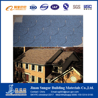 Material for Roofing Covering Fish-Scale/3-Tab Fiberglass Asphalt Shingle