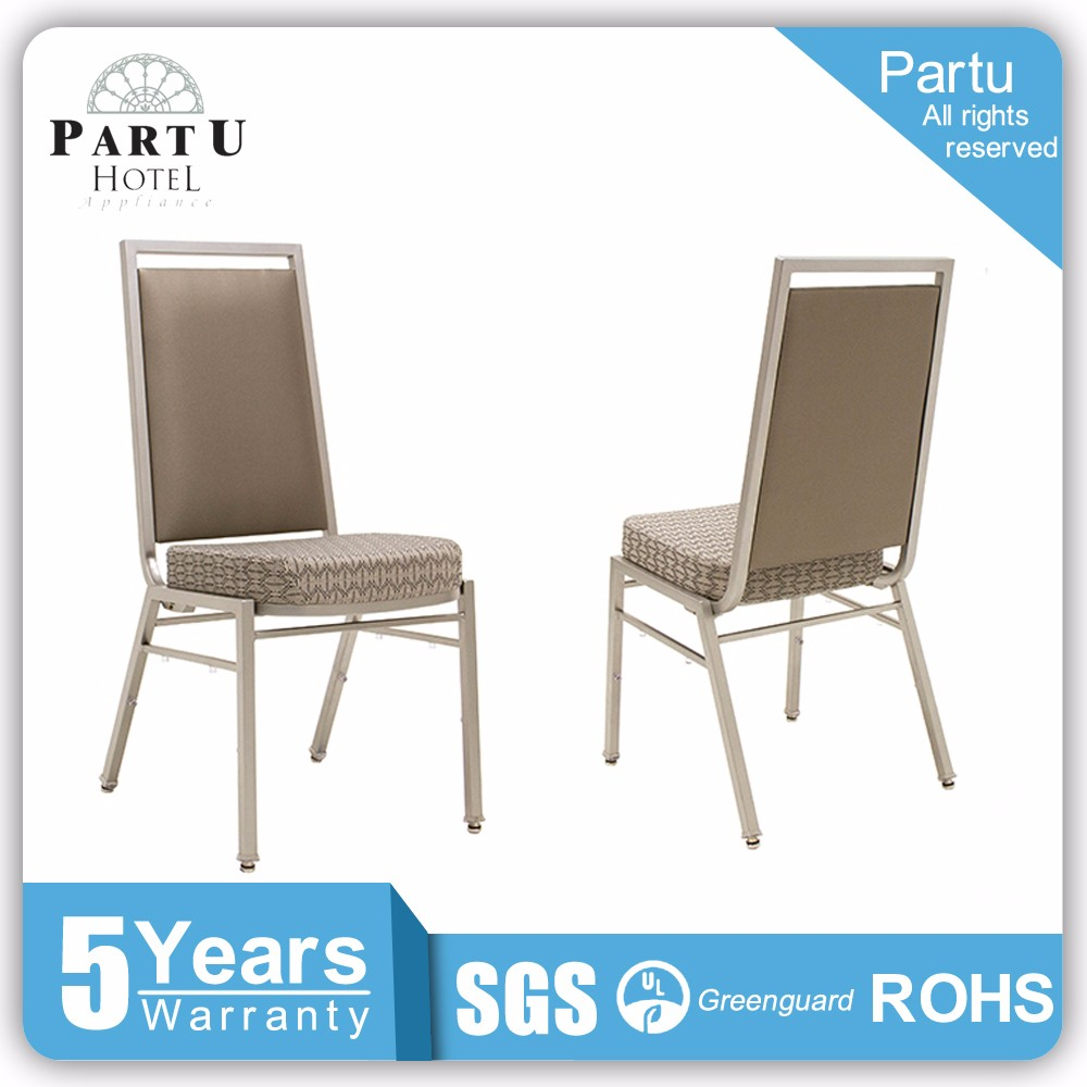 Custom Factory Price Cheap Classical Fabric Aluminum Hotel Banquet Chair