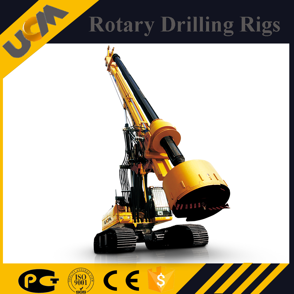 Crawler Mounted Water Well Geological Prospecting Mining Drilling Rig