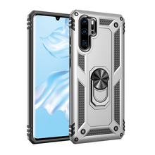 Earthquake-proof armor mobile phone shell for P30 pro with revolving finger ring bracket case