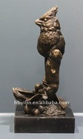 copper brass eagle statue