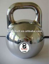 Chrome competitive kettlebell