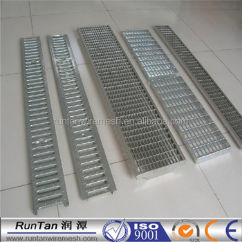 Galvanized Steel Trench Drain Cover Water Drain Covers