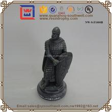 Brass Effect Resin Solider Figurine