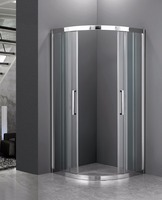 Mesa Wholesale stainless steel Shower Door sliding shower Enclosure for shower bathroom
