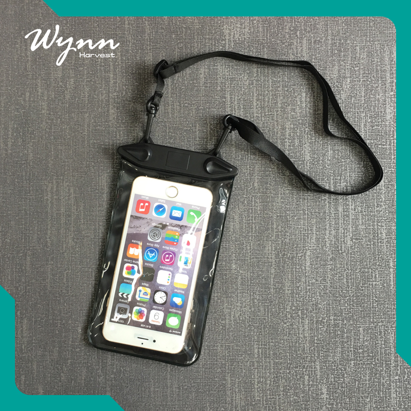 Fluorescent design waterproof mobile phone 6 case