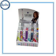 PDQ Counter Top Display With Hooks Cardboard Toothbrush Counter Display Stand With Color Printing China Supplier