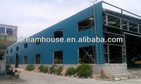 Prefabricated steeel structure warehouse