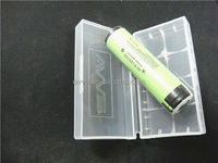Smart Plastic Transparent Universal Battery Case for Cylindrical Battery